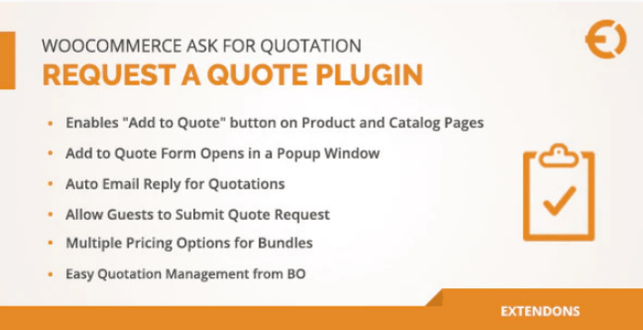 Woocommerce request a quote plugin ask for quotation plugin wordpress