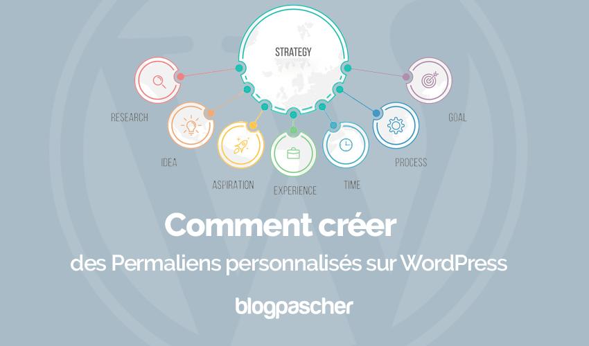 Comment creer permaliens personnalises wordpress