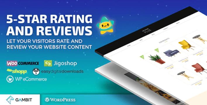 Пятизвездочные обзоры рейтингов плагин wp rating для сайтов с обзорами блогов и интернет-магазинов плагин wordpress