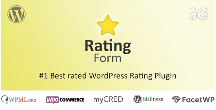 Rating form plugin wordpress