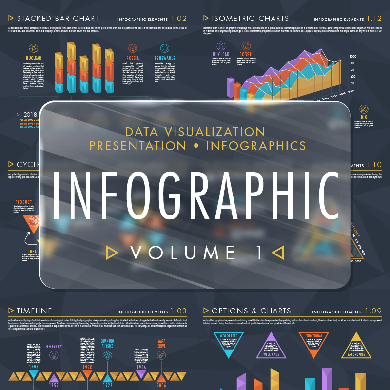 Элементы инфографики Том 1 Элементы инфографики