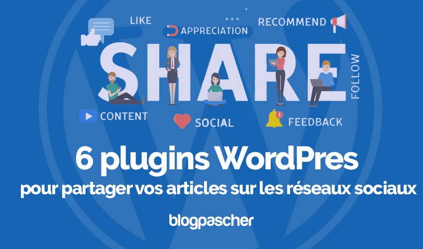 Plugins Wordpress Developper Partage Social Blog