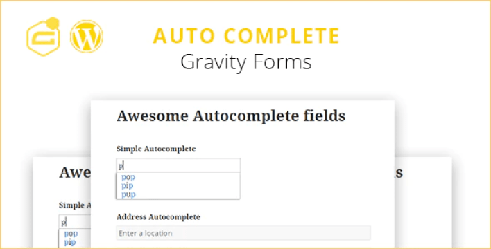 Gravity forms auto complete address field plugin wordpress