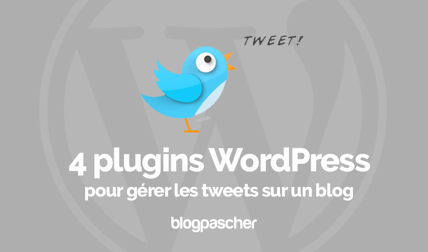 Plugins Wordpress Gérer Tweet