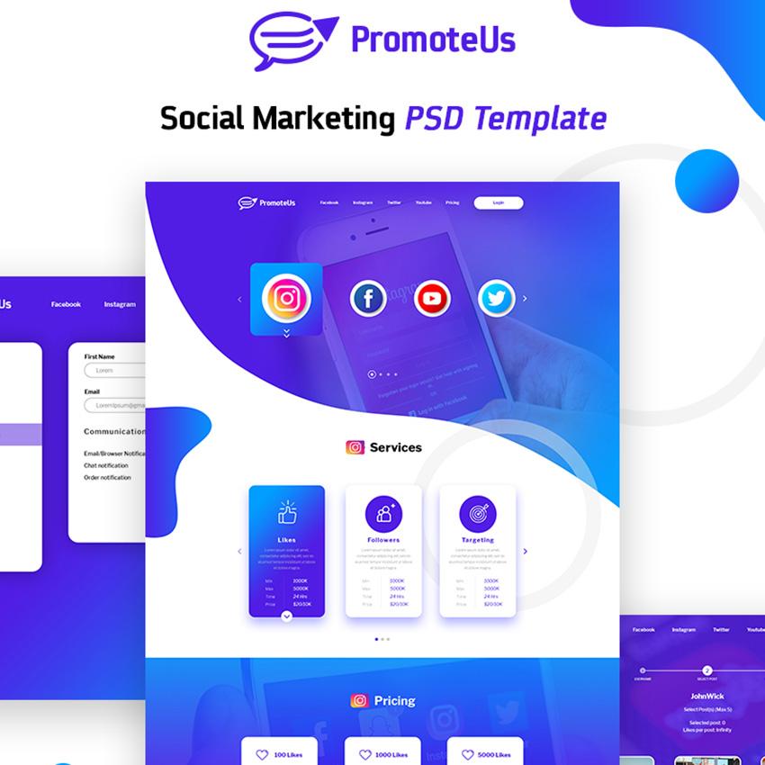 Social Marketing modèle PSD