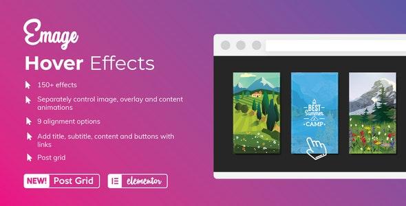 Emaeg image hover effect elementor