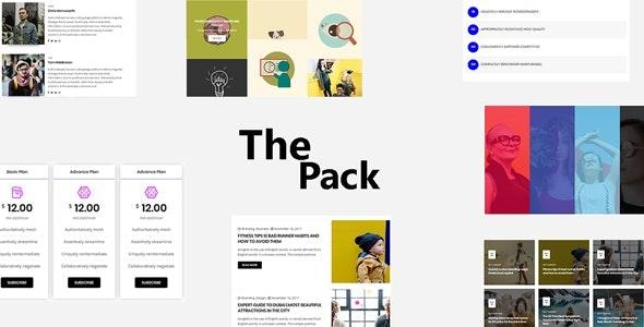The pack elementor plugin