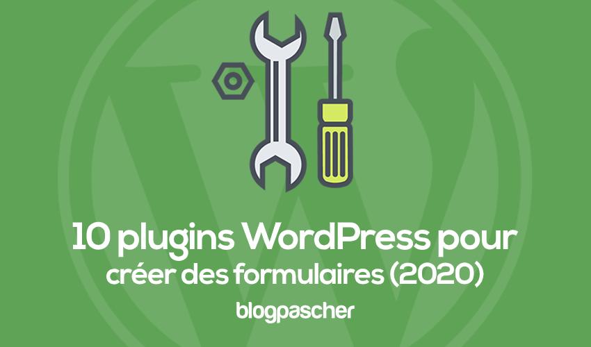 10 Plugins Pour Créer Des Formulaires De Contact Sur Wordpress