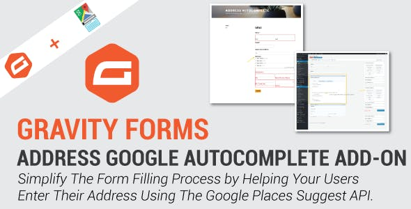 Codecanyon gravity forms address google autocomplete add on new