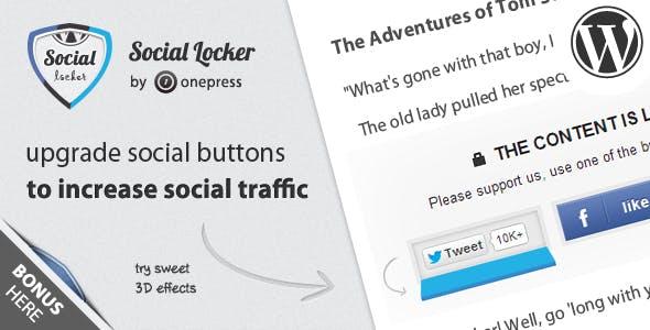 Sociallocker wp inline