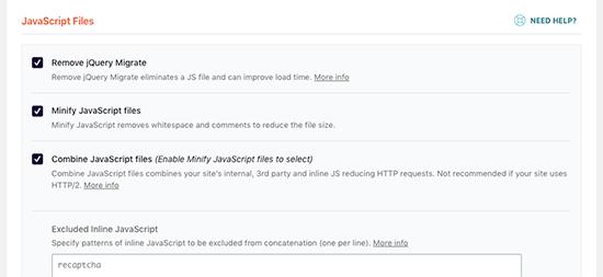 Comment corriger blocage rendus javascript css wordpress blogpascher 3