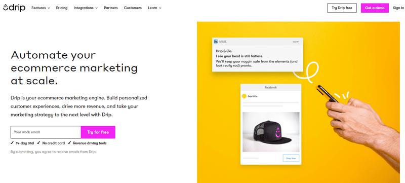 Outils automatisation marketing petites entreprises drip blogpascher