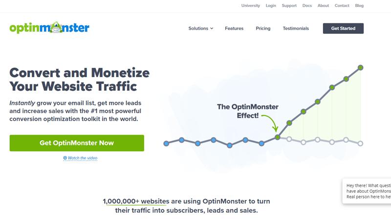 Outils automatisation marketing petites entreprises optinmonster blogpascher