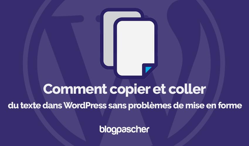 Blogpascher Biçimlendirme Sorunları Olmadan Wordpress'i Kopyalama