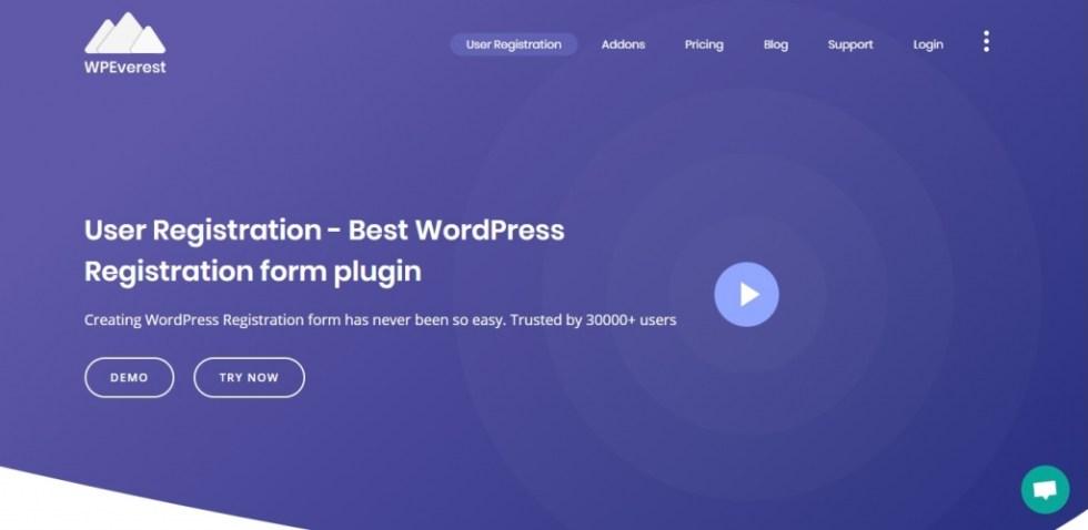 plugin wordpress user registration login