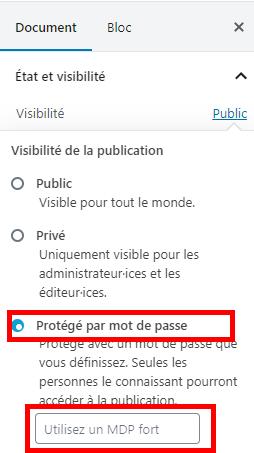 Proteger formulaire wordpress blogpascher 1