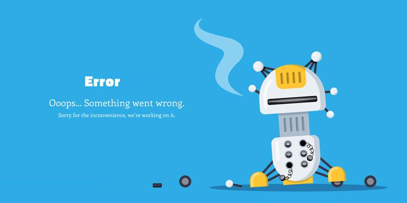 erreurs communes de connexion sur WordPress