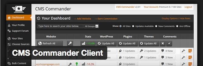 Client CMS Commander