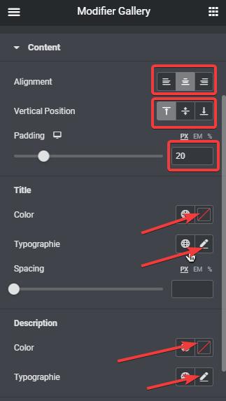 Comment créer une galerie d'images avec Elementor