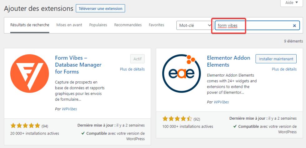 Comment gérer les soumissions de formulaires dans Elementor