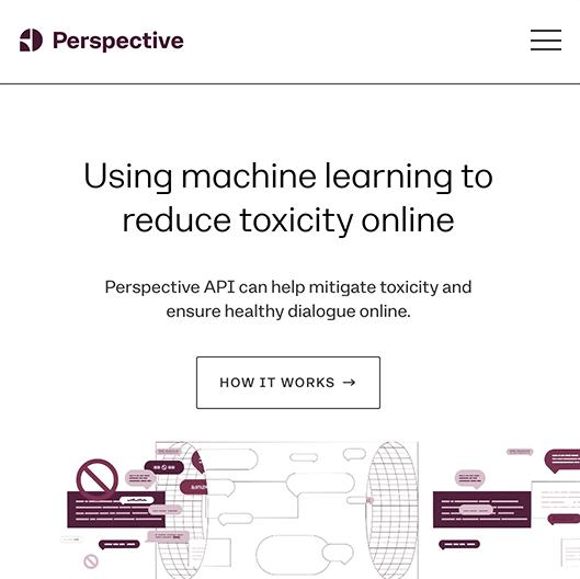 Site Internet de Perspective.