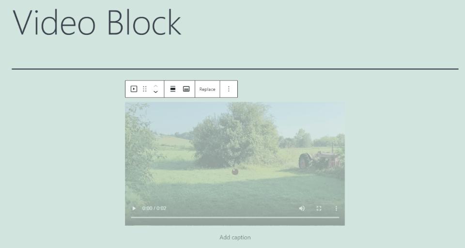 Comment ajouter le bloc vidéo à votre publication ou page
