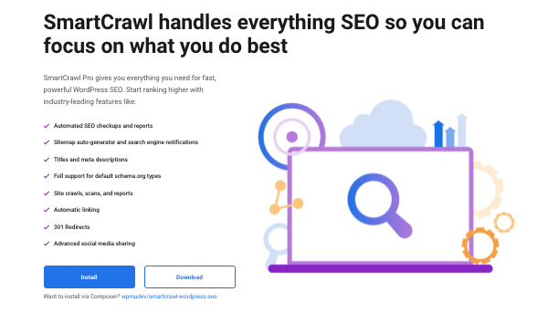 Un aperçu de notre plugin WordPress SEO, SmartCrawl
