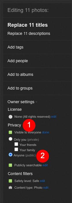 Flickr intégré