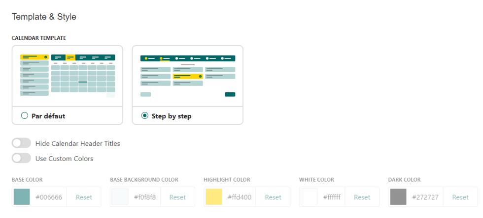 plugin WordPress de rendez-vous Bookit Calendar
