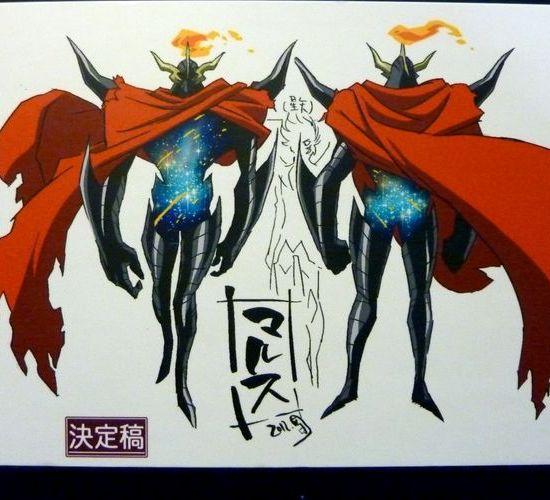 marte omega  - Crítica: Os Cavaleiros do Zodíaco - Saint Seiya Omega