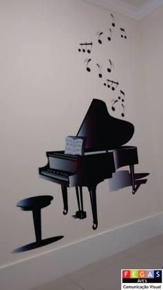 """adesivo piano - Art's Fegas - Seu novo """"point"""" para Comunicação Visual"""