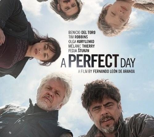 um dia perfeito poster - Um Dia Perfeito   Humor, Drama e a guerra pela direito humanitário