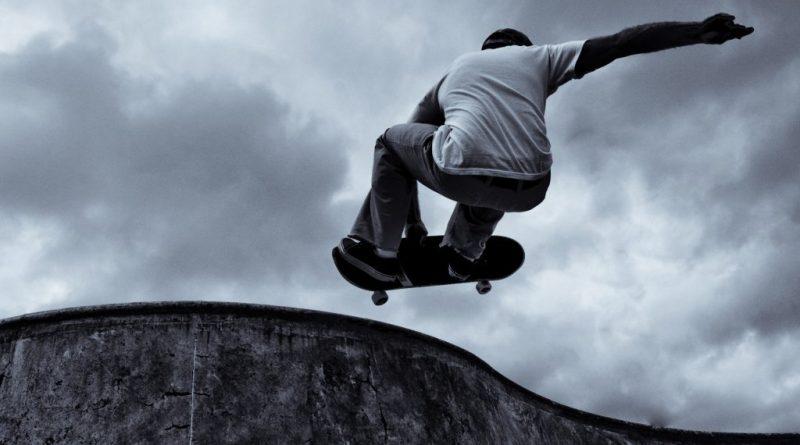 skate - Acidente na pista de Skate