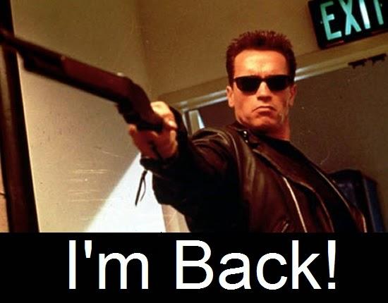 Arnold Schwarzenegger - Estamos de volta