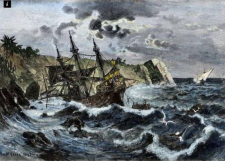 哥倫布艦隊遺骸