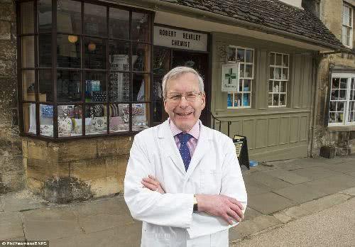英國最古老藥房