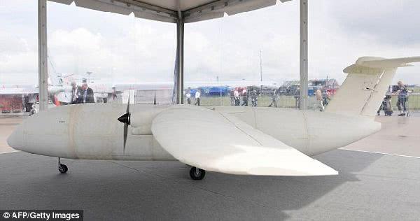 全球第一架 3D 列印客機