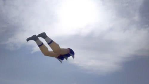 日本人腿風箏