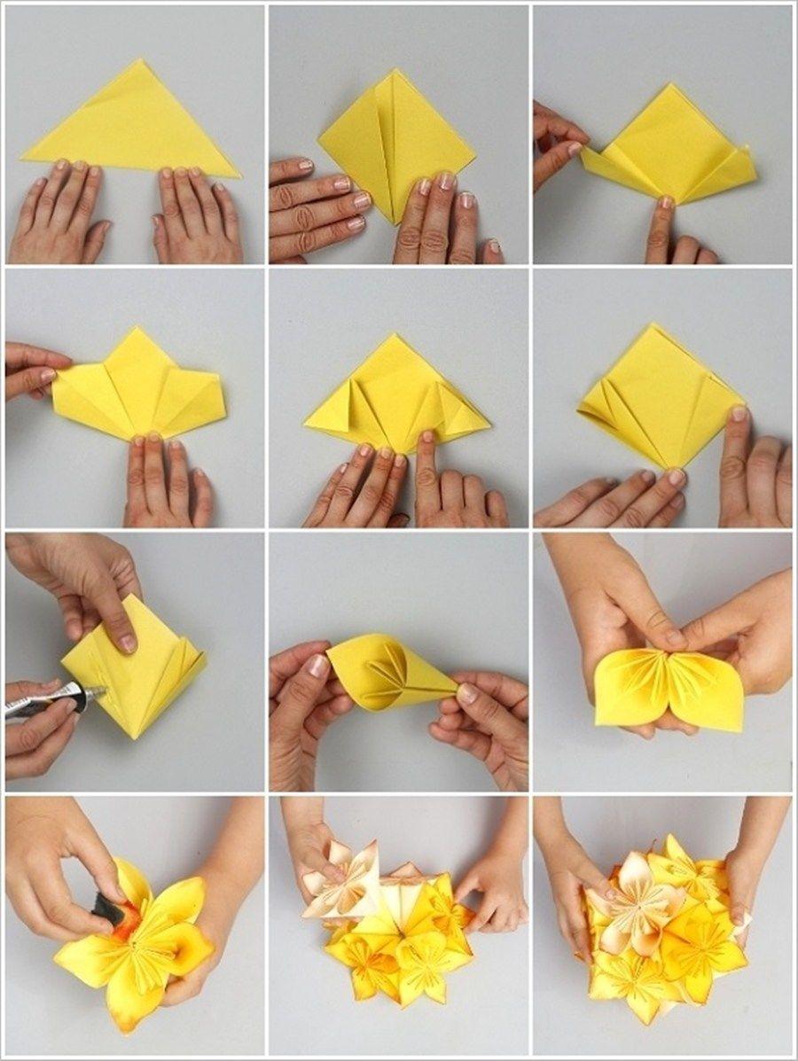 Cara Membuat Hiasan Dinding Dari Kertas Origami : membuat, hiasan, dinding, kertas, origami, Membuat, Hiasan, Kertas, Origami, Hemat, Bujet, Cantik!