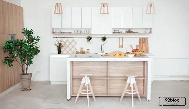 7 Gambar Desain Dapur Minimalis 2x2 | Cantik walau Terbatas