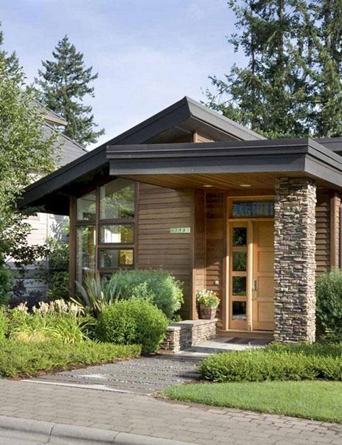 Gambar Atap Rumah Minimalis : gambar, rumah, minimalis, Desain, Rumah, Minimalis, Modern, Datar, Konstruksi, Sipil