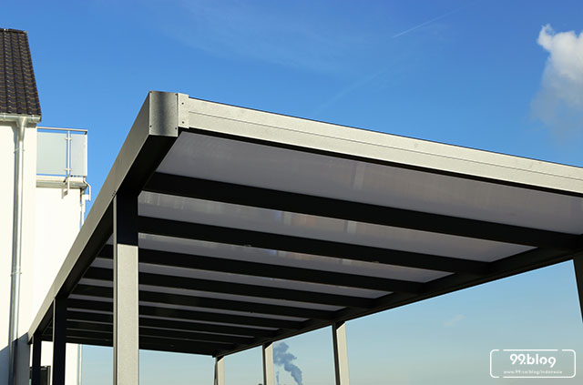 lisplang kanopi baja ringan 10 model untuk garasi rumah inspirasi terbaik