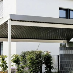 Contoh Rangka Atap Baja Ringan Minimalis 10 Model Kanopi Untuk Garasi Rumah Inspirasi Terbaik