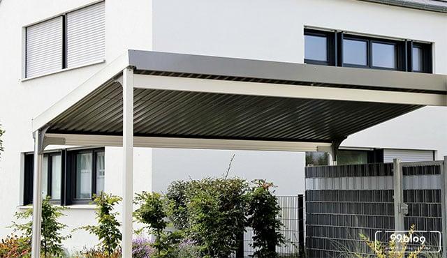 kanopi baja ringan bekas 10 model untuk garasi rumah inspirasi terbaik