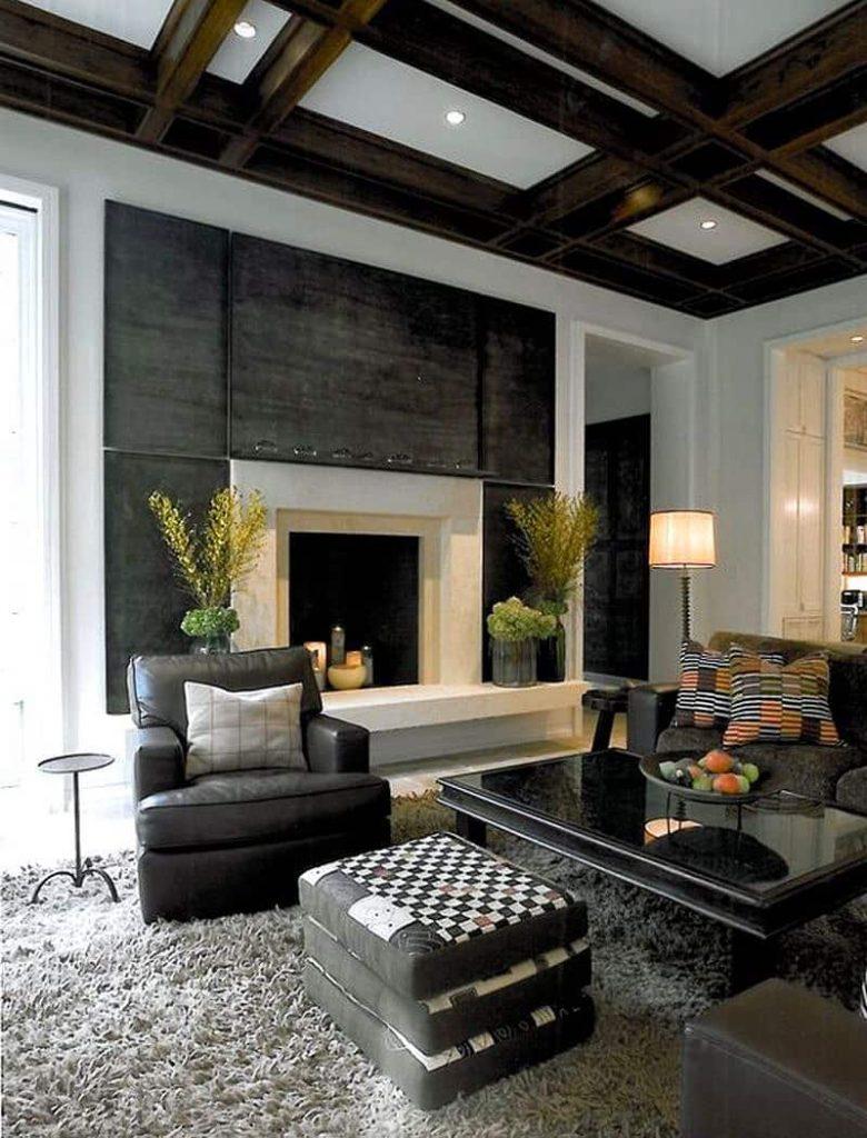 7 Inspirasi Model Plafon Ruang Tamu Minimalis & Modern
