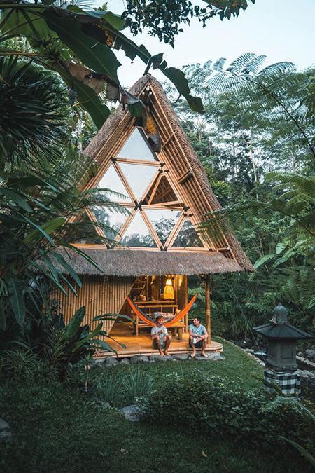 Desain Rumah Bambu : desain, rumah, bambu, Inspirasi, Desain, Rumah, Bambu, Minimalis, Modern, Rumahmu, Indonesia, Mendesain
