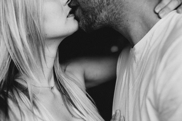 beijo sensual