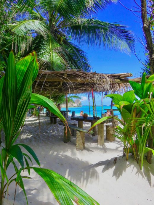 Beach bar seychelles