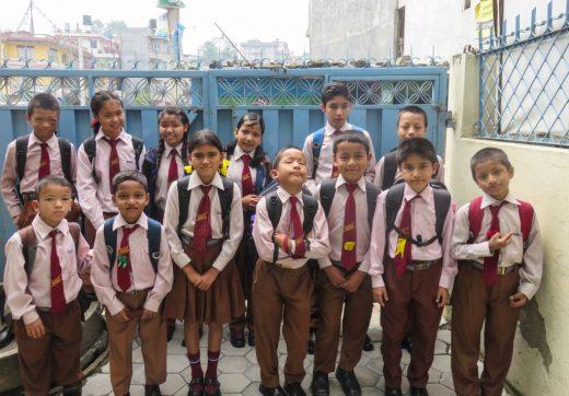 IGWR school kids Kathmandu Nepal