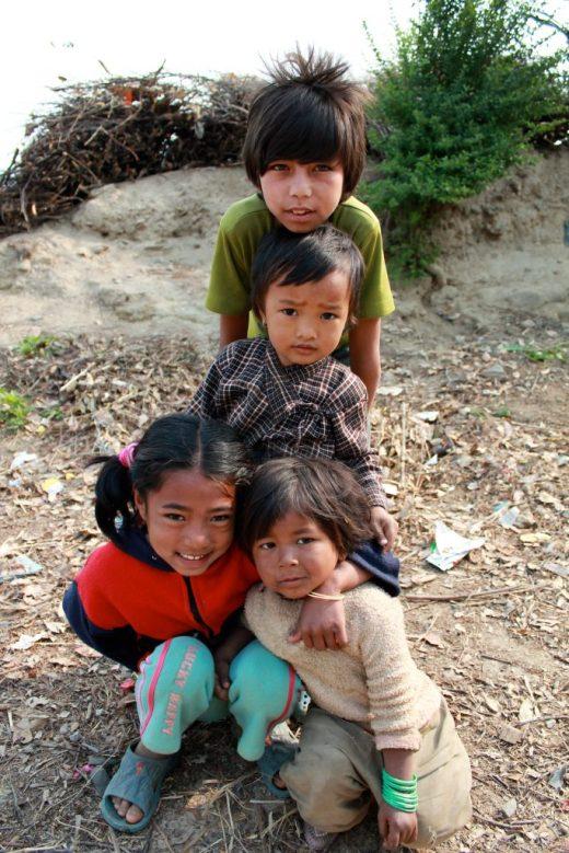 Nepal Villages kids